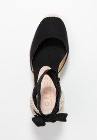 Office - MARMALADE - Sandály na vysokém podpatku - black - 3