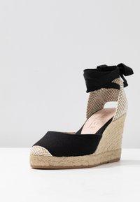 Office - MARMALADE - Sandály na vysokém podpatku - black - 4