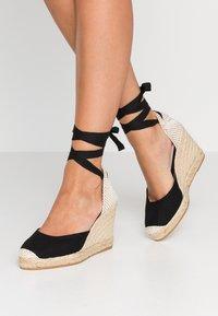 Office - MARMALADE - Sandály na vysokém podpatku - black - 0