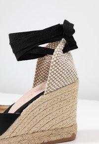 Office - MARMALADE - Sandály na vysokém podpatku - black - 2