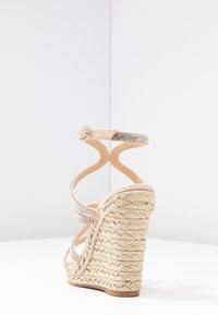 Office - HONEYDEW - Sandály na vysokém podpatku - nude - 5