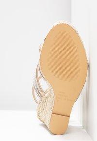 Office - HONEYDEW - Sandály na vysokém podpatku - nude - 6