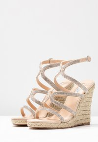 Office - HONEYDEW - Sandály na vysokém podpatku - nude - 4