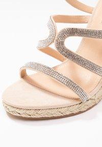 Office - HONEYDEW - Sandály na vysokém podpatku - nude - 2