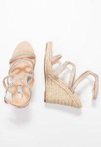 Office - HONEYDEW - Sandály na vysokém podpatku - nude - 3