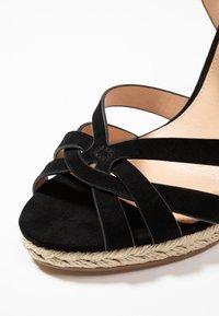 Office - HALFMOON - Sandály na vysokém podpatku - black - 2