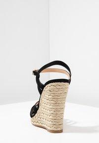 Office - HALFMOON - Sandály na vysokém podpatku - black - 5