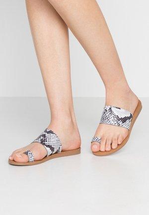 Sandalias de dedo - grey