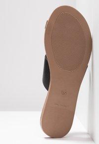 Office - Sandály s odděleným palcem - black - 6