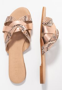 Office Wide Fit - SAFFRON WIDE FIT - Sandalias planas - nude - 3