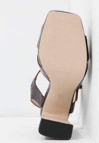 Office - HUDA - Sandalen met hoge hak - oxblood - 6