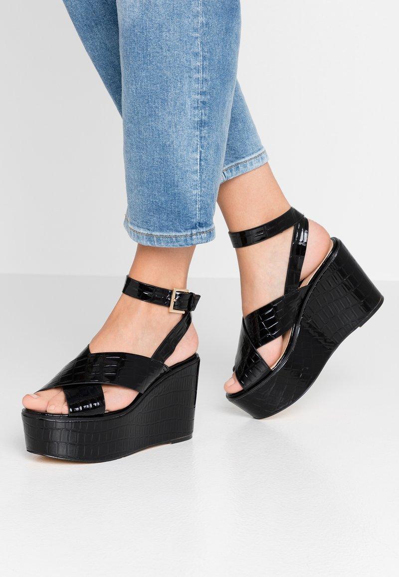 Office - MEDAL - Sandaler med høye hæler - black