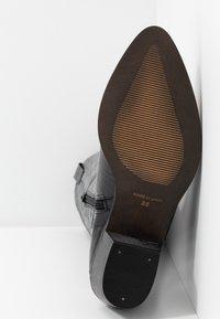 Office - KOUNTRY - Kovbojské/motorkářské boty - black - 6
