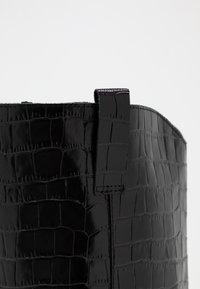 Office - KOUNTRY - Kovbojské/motorkářské boty - black - 2