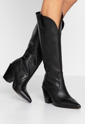 KASH - Cowboy/Biker boots - black