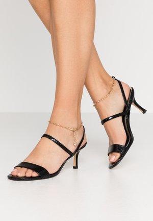 MERRY-GO-ROUND - Sandals - black