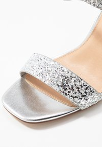Office - HEAVEN-SENT - High heeled sandals - silver glitter - 2