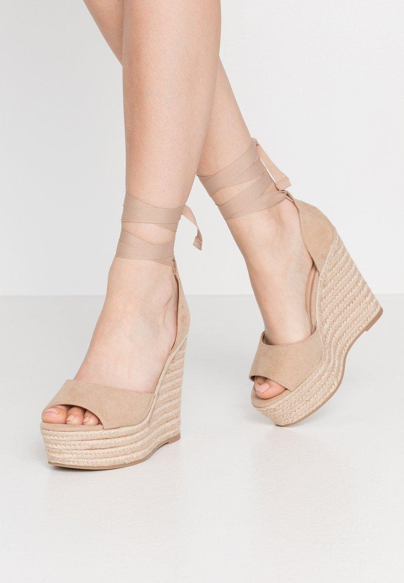 Office - WINNIE - High heeled sandals - nude