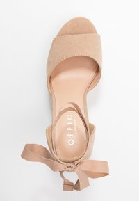 Office - WINNIE - High heeled sandals - nude - 3