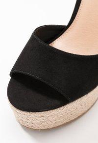 Office - WINNIE - High heeled sandals - black - 2