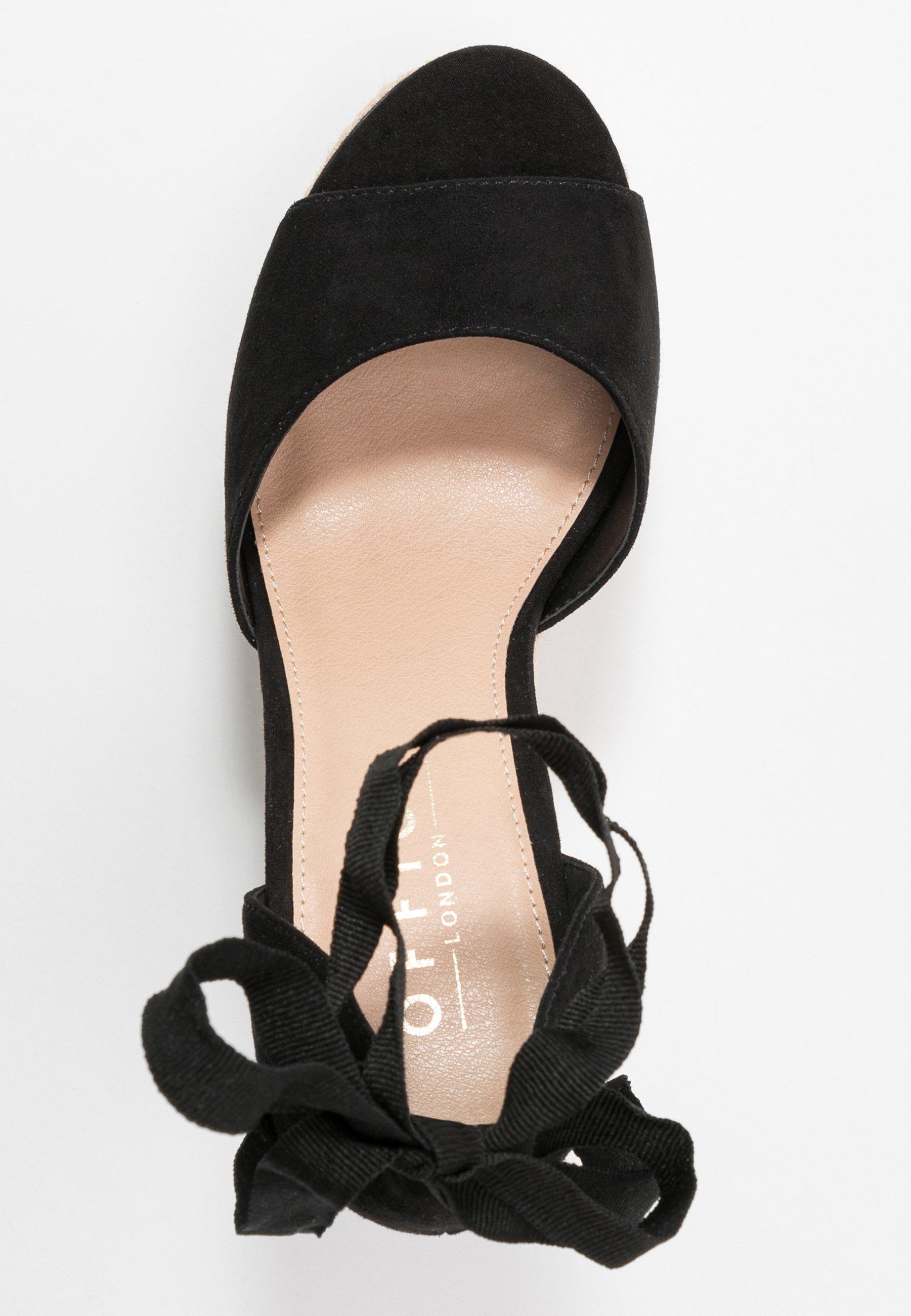 Office WINNIE - High Heel Sandalette - black uiJtPL