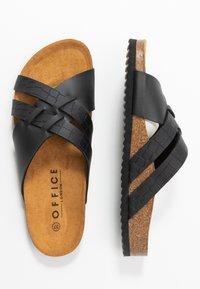 Office - STRIPE - Slippers - black - 3