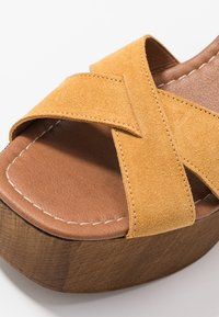 Office - MARZIPAN - Clogs - mustard - 5