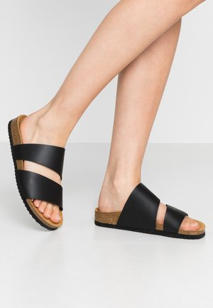 STRAIGHT - Mules - black