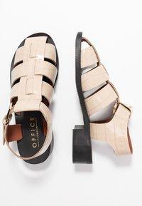Office - FRANCESCA - Sandals - natural - 3