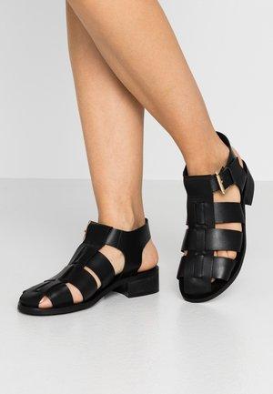 FRANCESCA - Sandals - black