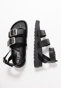Office - STINGRAY - Sandals - black - 3
