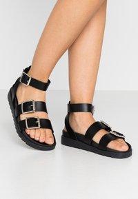 Office - STINGRAY - Sandals - black - 0