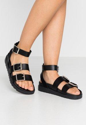 STINGRAY - Sandals - black