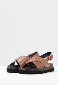 Office - SUPERNOVA - Platform sandals - tan - 4