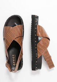 Office - SUPERNOVA - Platform sandals - tan - 3