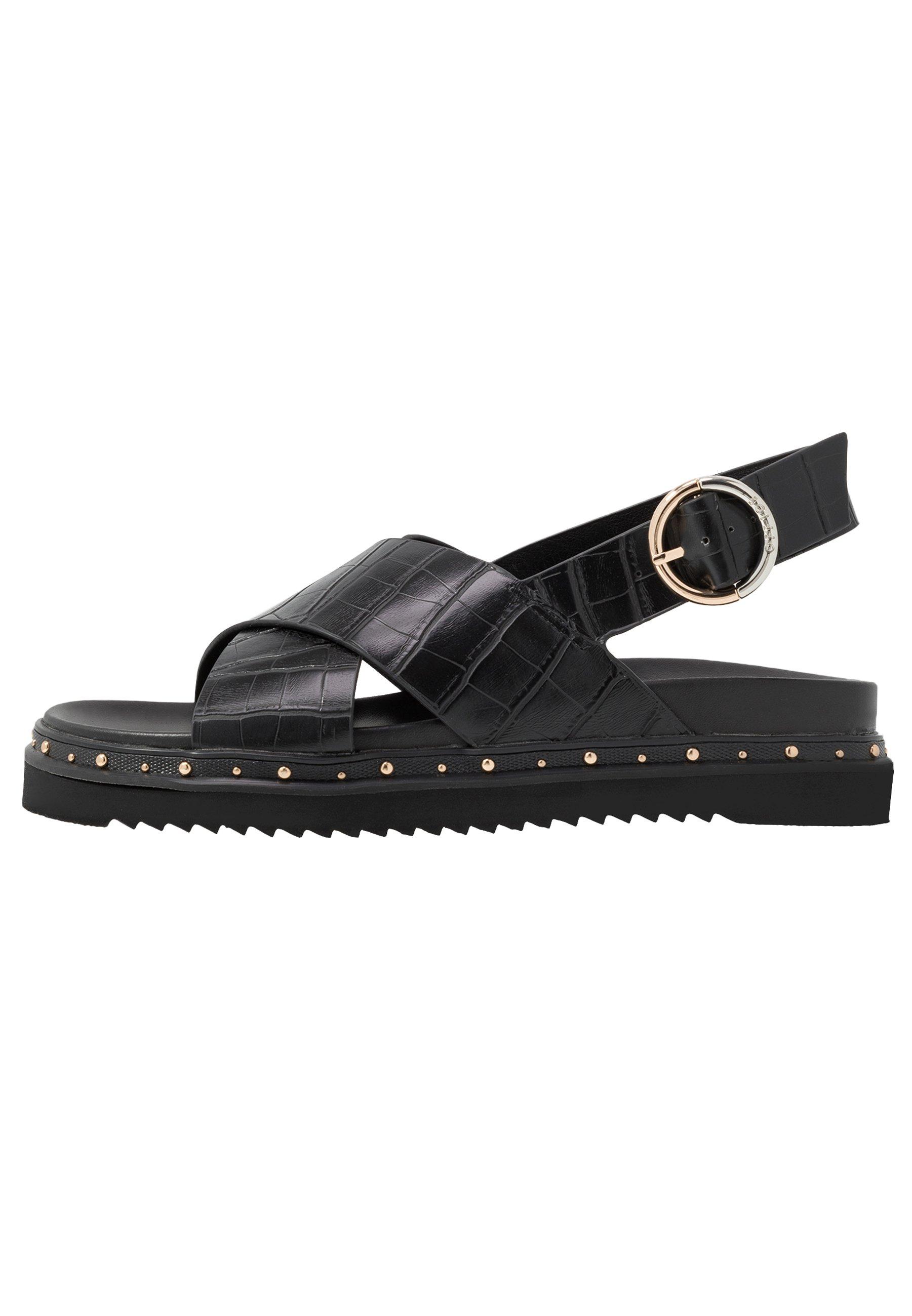 Office SUPERNOVA - Platform sandals - black