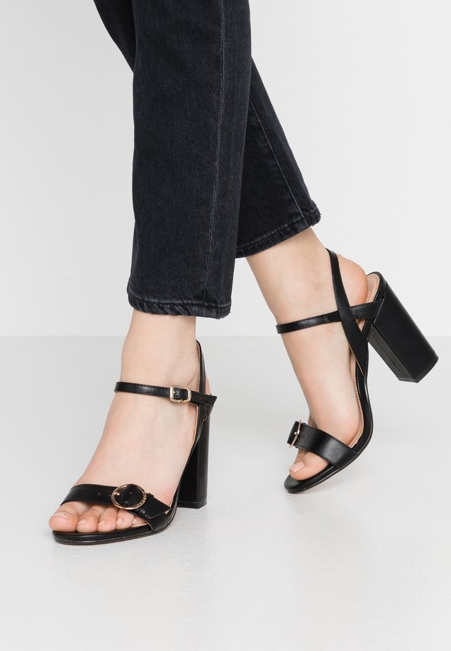HEADGIRL - High heeled sandals - black