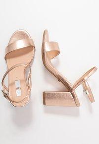 Office - HERO - Sandaler med høye hæler - rose gold - 3