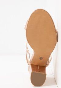Office - HERO - Sandaler med høye hæler - rose gold - 6