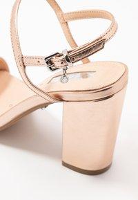 Office - HERO - Sandaler med høye hæler - rose gold - 2