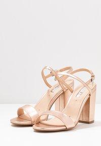 Office - HERO - Sandaler med høye hæler - rose gold - 4