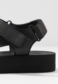 Office - SPRINGY - Plateausandaler - black - 5