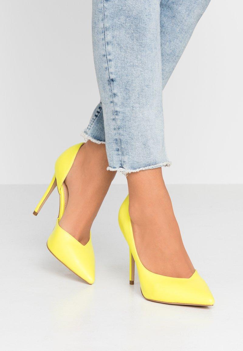 Office - HEIGHTON  - High heels - yellow neon