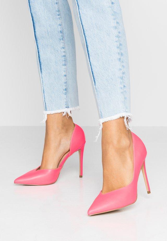 HEIGHTON  - Høye hæler - pink neon