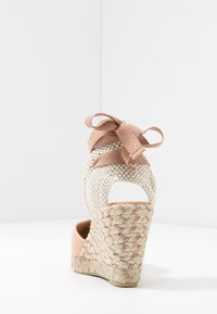 Office Wide Fit - MARMALADE WIDE FIT - Korolliset sandaalit - nude/rose gold - 5