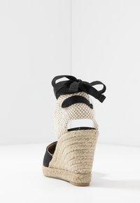 Office Wide Fit - MARMALADE WIDE FIT - Sandály na vysokém podpatku - black - 5