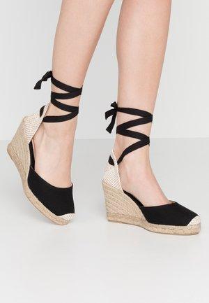 MARMALADE WIDE FIT - Sandály na vysokém podpatku - black
