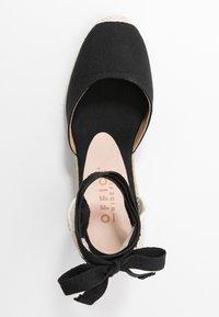 Office Wide Fit - MARMALADE WIDE FIT - Sandály na vysokém podpatku - black - 3