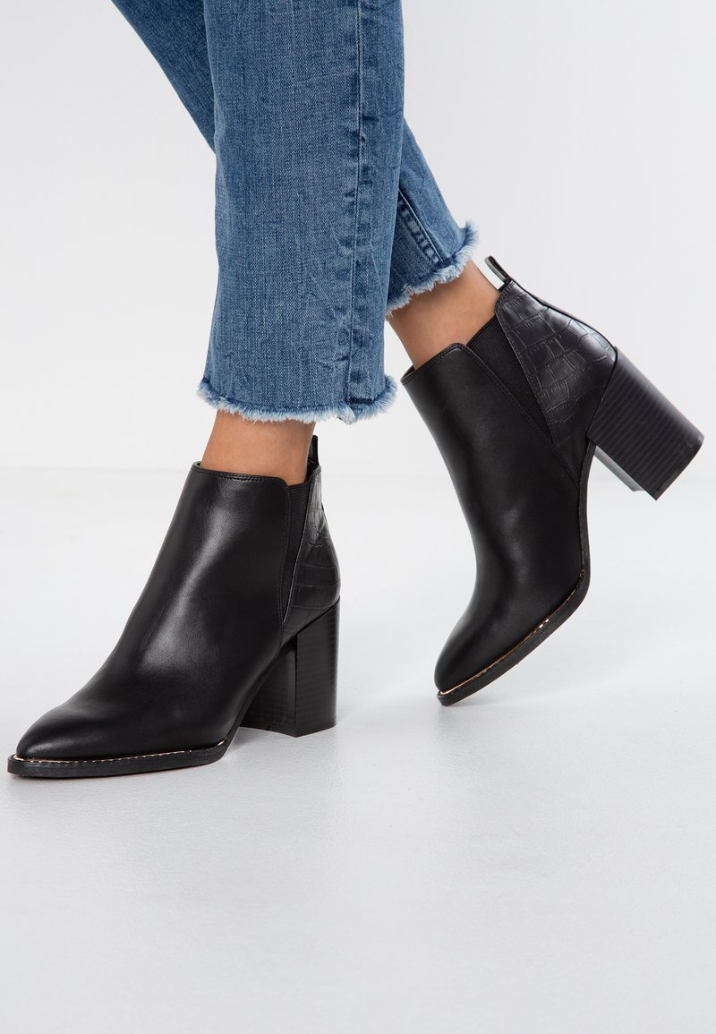 Office - ANABELLA - Ankle Boot - black/rose gold