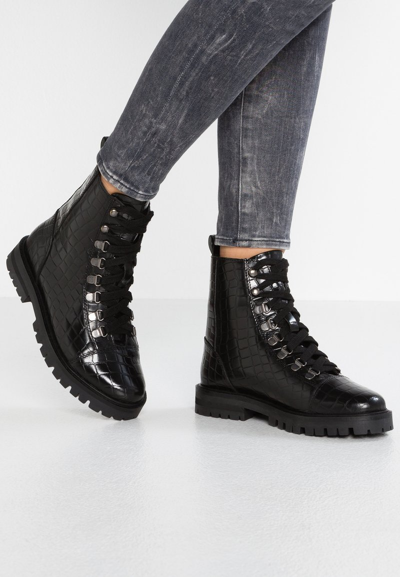 Office - ANSEL - Lace-up ankle boots - black